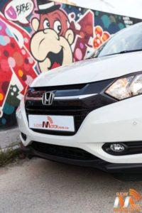 Al volante del Honda HR-V vs Nissan Qashqai 06-spm