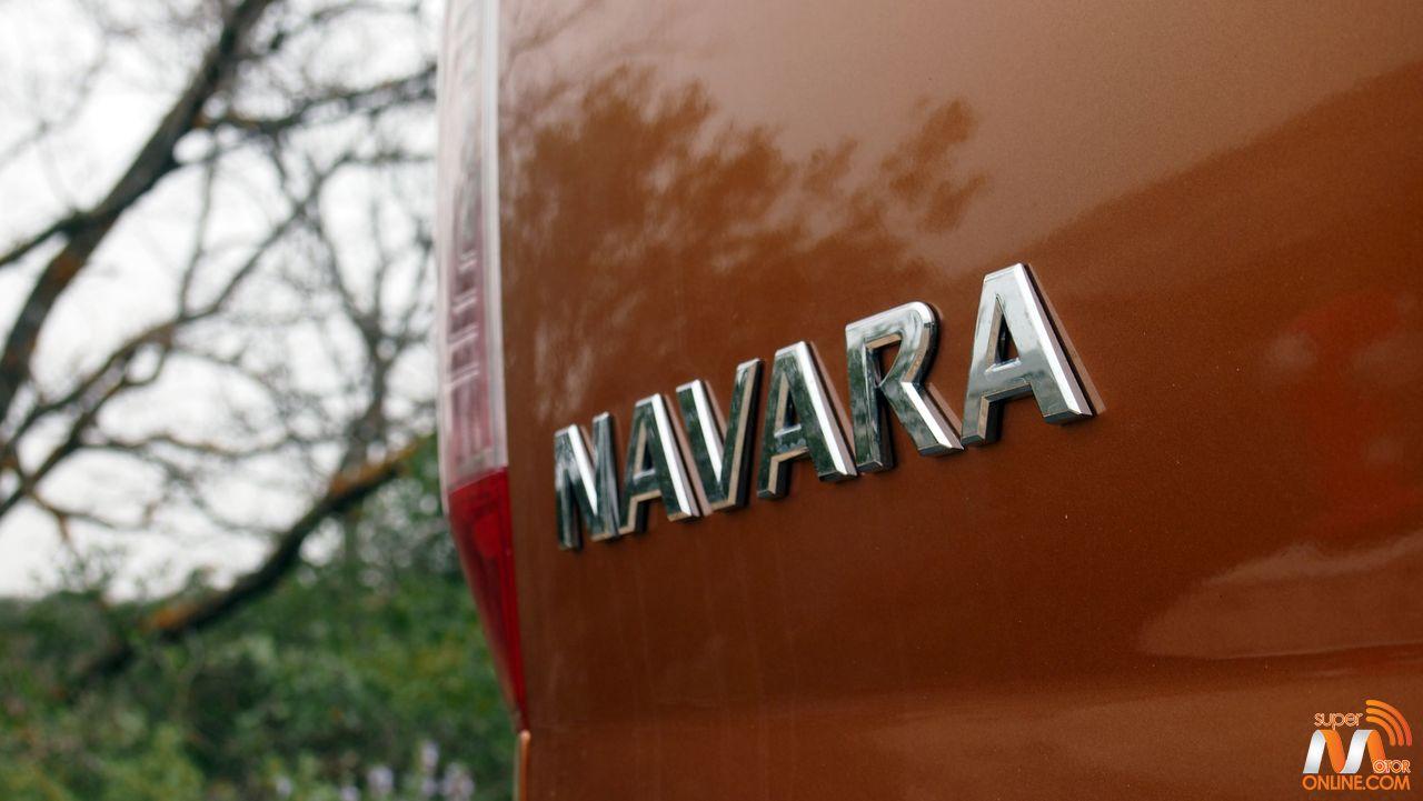 Al volante del Nissan Navara 2017