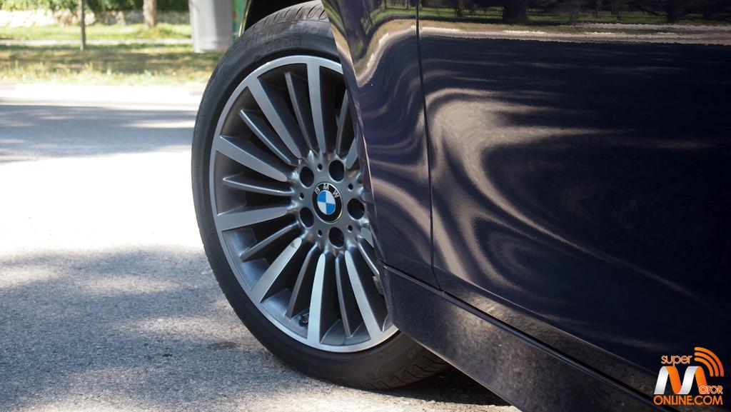 Al volante del BMW 318d Touring 2017